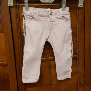 ZARA BABY Girl  Pink Pants Size 9-22 Months Old
